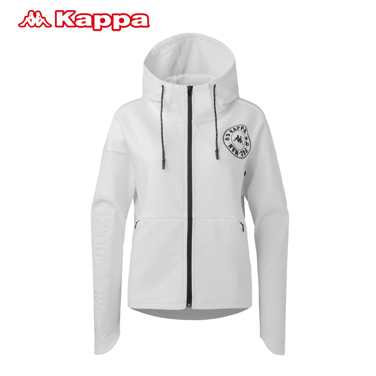 Kappa背靠背联名Pacman 情侣款女子运动卫衣卡帕休闲帽衫