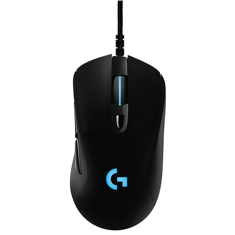 罗技G403有线鼠标+罗技G413银色-黑色键盘键鼠套装绝地求生宏