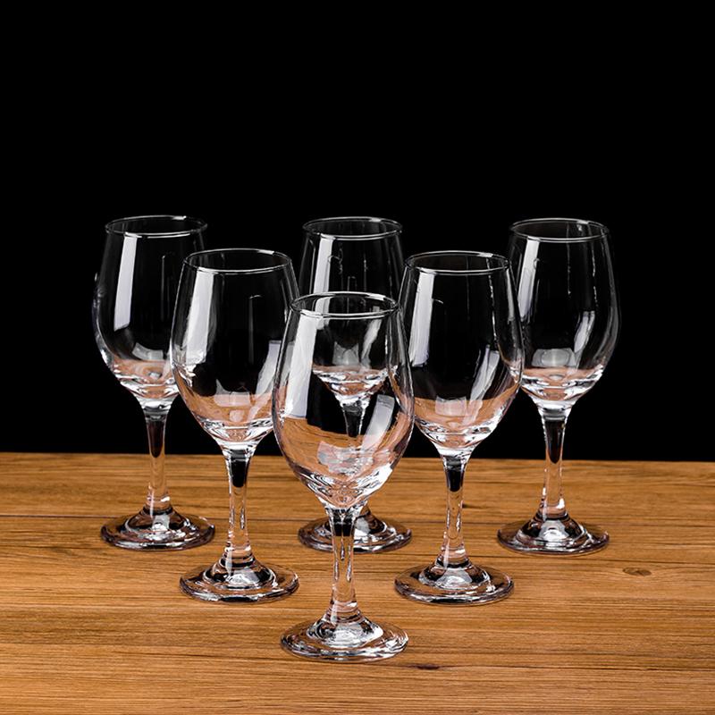 石岛波尔多欧式无铅水晶红酒杯套装家用高脚杯醒酒器杯架葡萄酒杯