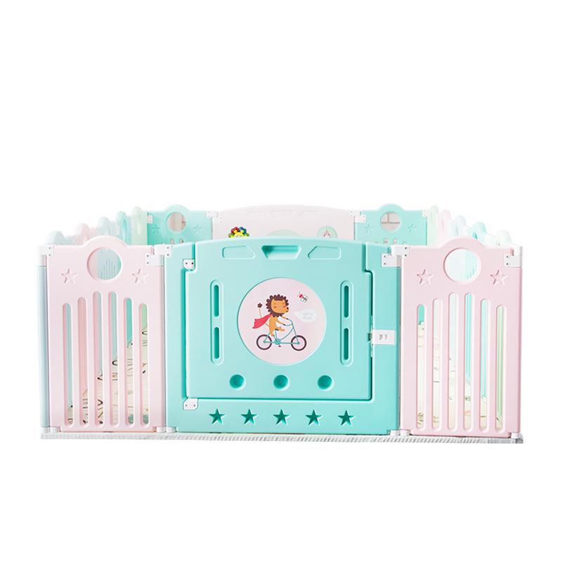 曼龙婴儿童游戏围栏宝宝防护栏学步垫爬行垫安全栅栏家用室内玩具