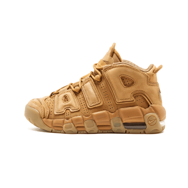 Nike Air More Uptempo SE GS 小麦色皮蓬大air篮球鞋 922845 200