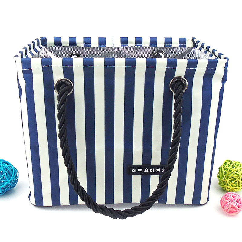 South Korea waterproof bath bath package shower basket bag folding ...