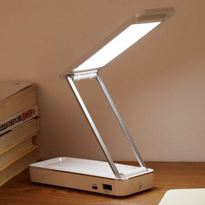 充电小台灯护眼书桌大学生宿舍超长续航学习阅读床头大容量台灯