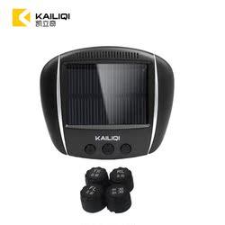 凯立奇太阳能胎压监测无线外置内置 高精度汽车轮胎检测仪器通用