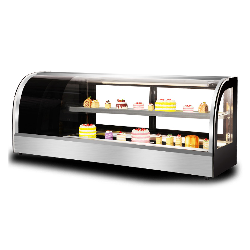 寿司展示柜小型台式冷藏蛋糕柜商用水果甜品慕斯西点保鲜柜奶茶店