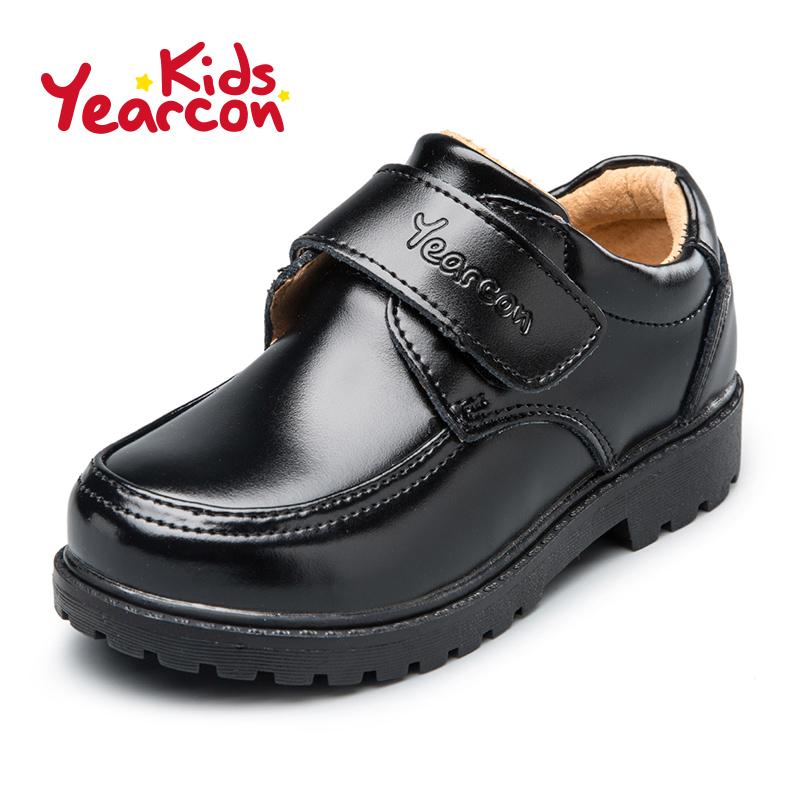 意尔康童鞋2017新款小皮鞋演出鞋男童中小童英伦风方头学生鞋产品展示图3