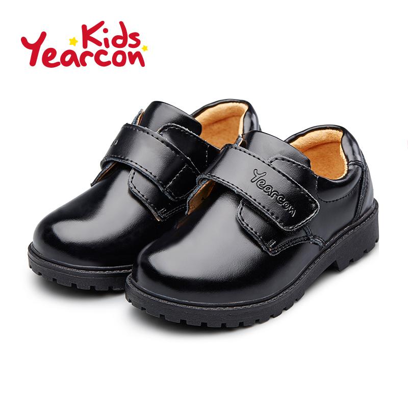 意尔康童鞋2017新款小皮鞋演出鞋男童中小童英伦风圆头学生鞋产品展示图5