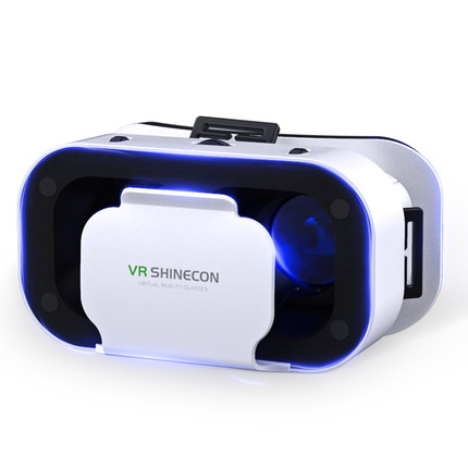 VR Glasses virtual reality 3D smart phone game rv eye 4d ar Apple Android phone dedicated Google headset wear family movie equipment