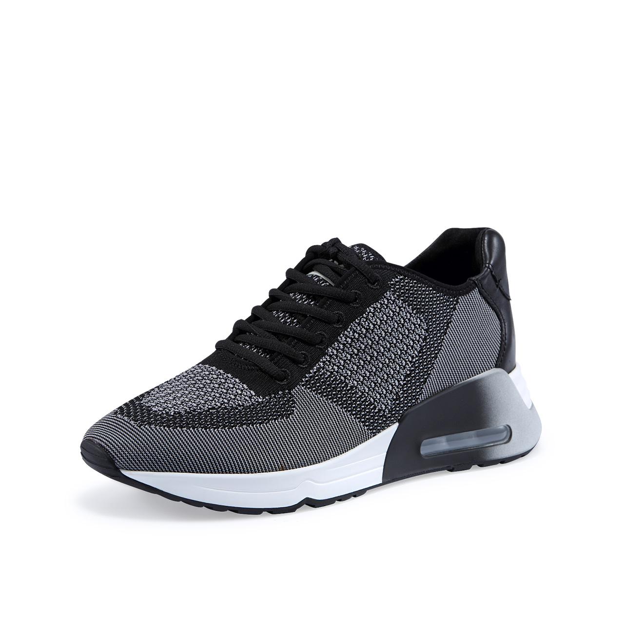 ASH男鞋2018秋季新款LINFORD系列系带气垫底运动休闲单鞋