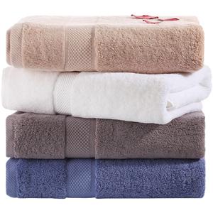 南极人大浴巾纯棉成人男女柔软全棉大号毛巾可爱超强吸水家用韩版