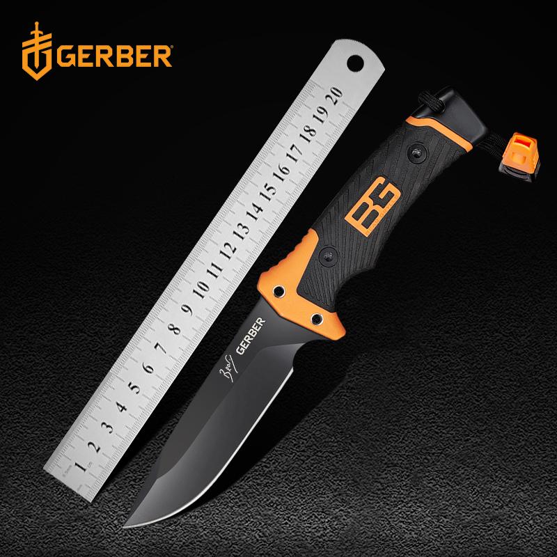 美国戈博GERBER贝尔求生刀knife gerber户外刀军刀战术刀直刀防身