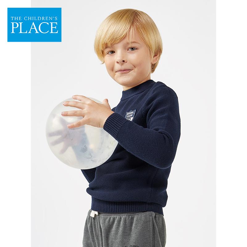 美国 The Children's Place 全棉 中大男童毛衣针织衫 天猫优惠券折后¥59包邮(¥119-60)110~160码可选