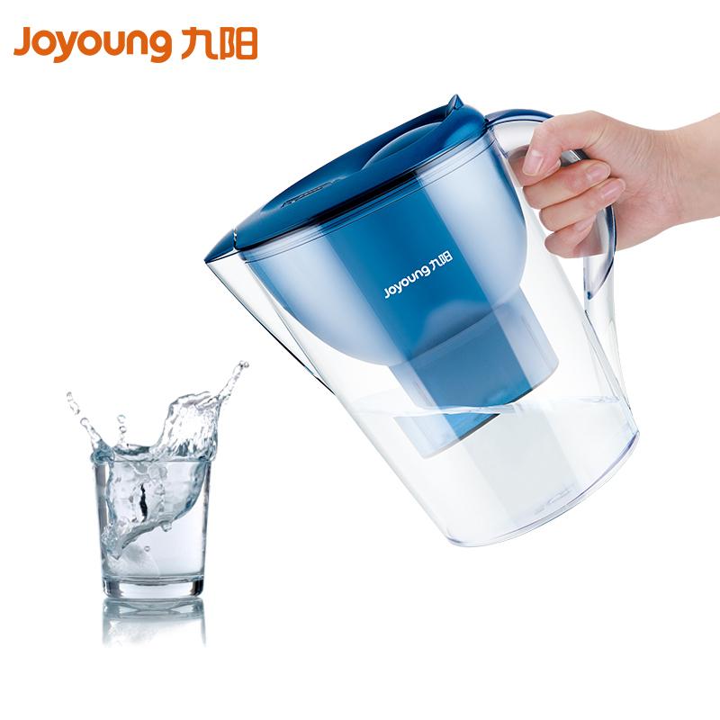 九阳净水壶净水杯JYW-B02A净水器家用便携净水壶3.5L自来水过滤
