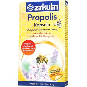 德国Zirkulin哲库林进口纯天然高浓度蜂胶胶囊5000mg美容养颜30粒