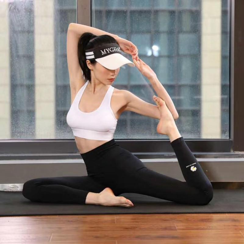 小雏菊燃脂瘦腿裤高腰收复提臀女士透气高弹显瘦瑜伽健身外穿打底