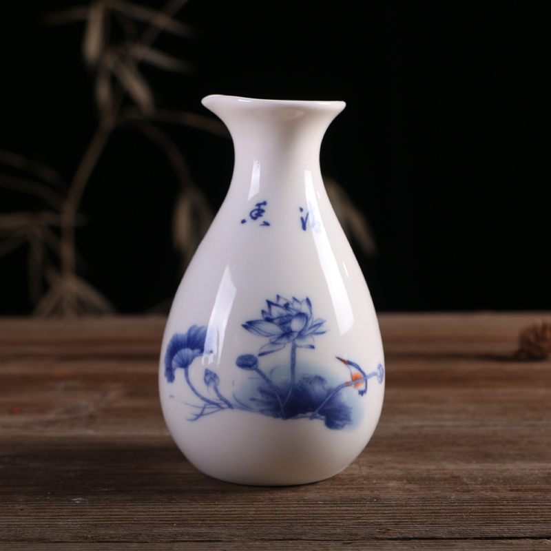 Qiao mu wine ceramics hip fat penguins points clear wine yellow rice wine with many optional