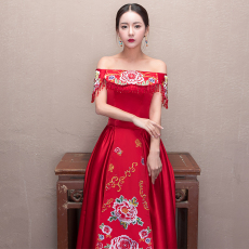 Cheongsam dress Dudin posture qp170317 2017