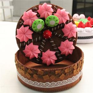 蛋糕摆件不织布手工diy材料包亲子成人制作装饰品新人专享9.9包邮