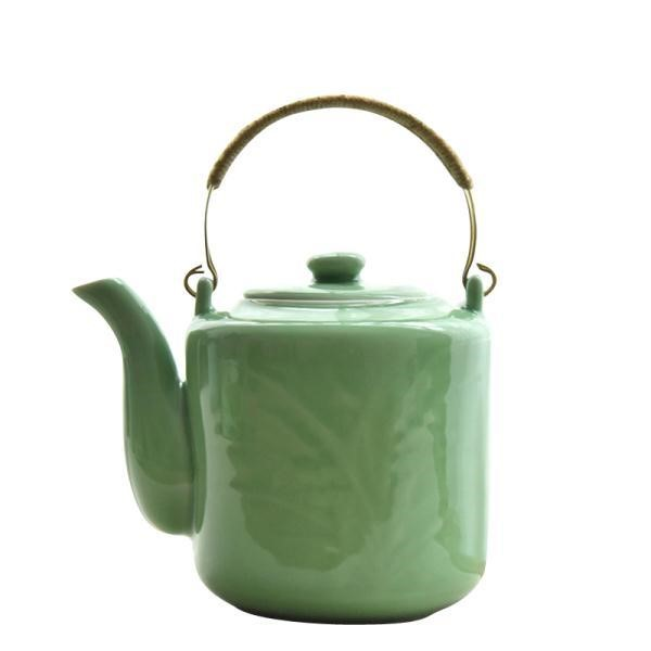 The large kitchen teapot ceramic cool large capacity domestic high - temperature thickening tea kettle pot of large size