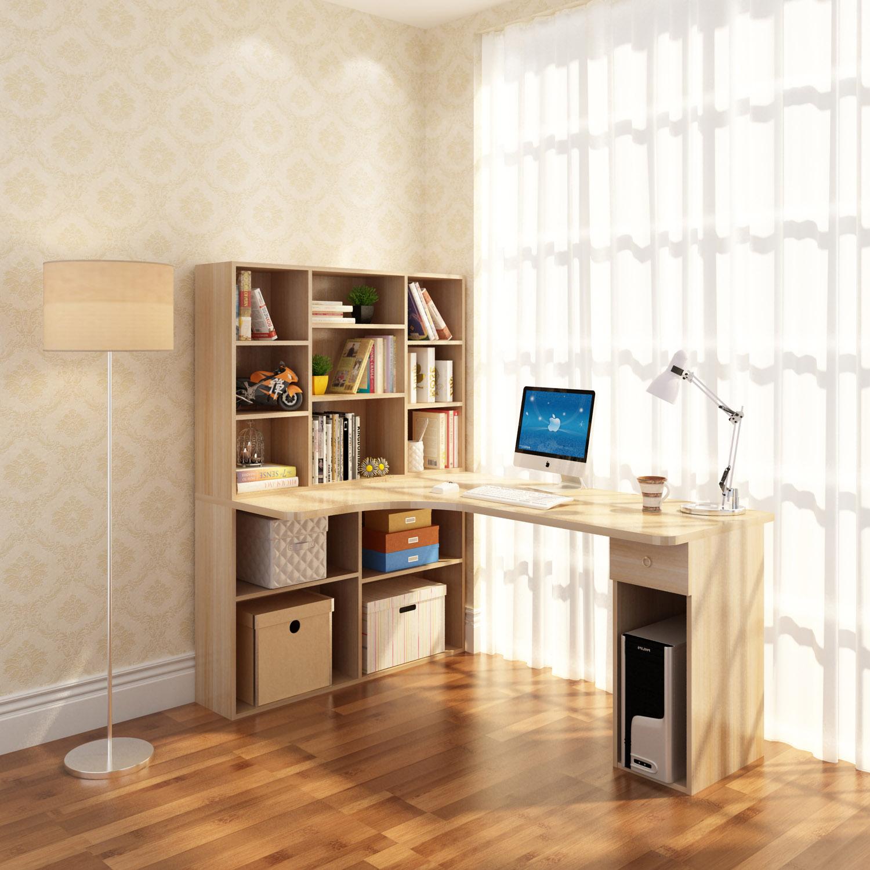 Письменный стол для ребёнка с полками фото