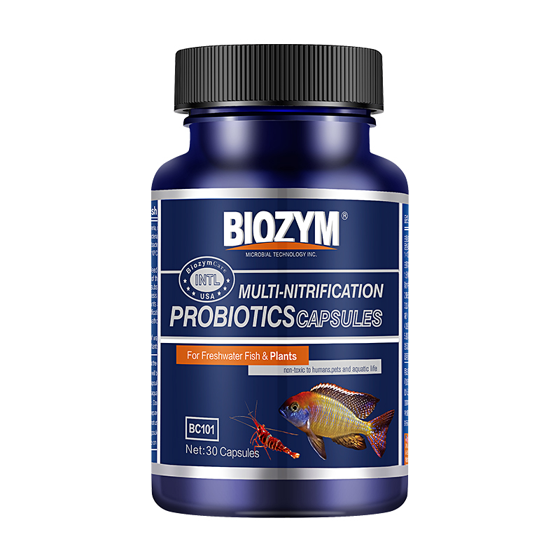 百因美硝化细菌鱼缸用净水剂水质稳定剂水族养鱼用品消化细菌胶囊