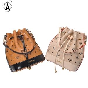 艾菲尔女包夏季新款包包水桶包女手提包仙女包大容量单肩斜挎小包