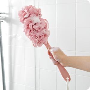 长柄沐浴球大号搓澡巾浴花搓背成人不散浴擦洗澡不求人神器沐浴刷