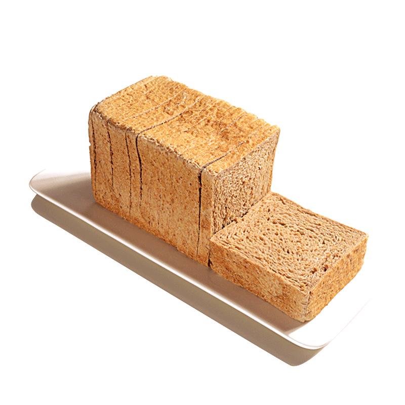 炫耀全麦面包吐司切片粗粮无油高饱腹低卡早午代餐面包100g*6包