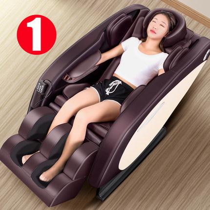 电动按摩椅智能家用新款8d全自动老人太空舱全身小型多功能揉捏器