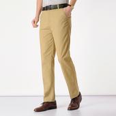 薄款男士高腰直筒宽松长裤休闲裤
