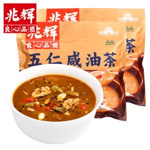 兆辉五仁咸油茶袋装400g*2袋营养早餐五谷冲饮即食代餐粉山西特产