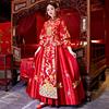 秀禾服新娘2018新款婚服女红色嫁衣中式复古敬酒服旗袍礼服中国风