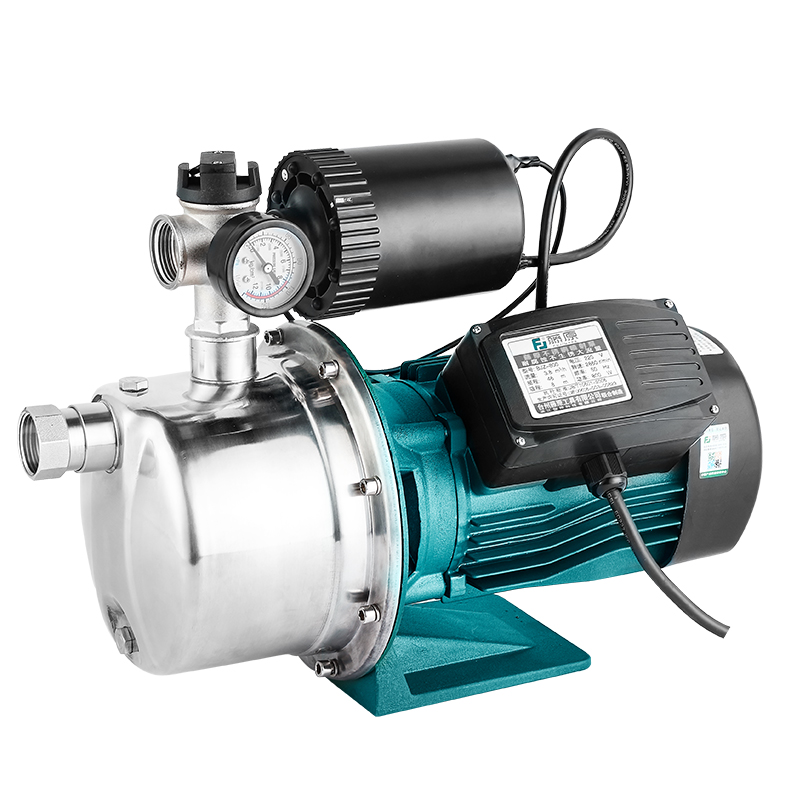 藤原全自动增压泵220v家用自来水自吸泵吸水泵不锈钢加压器抽水泵