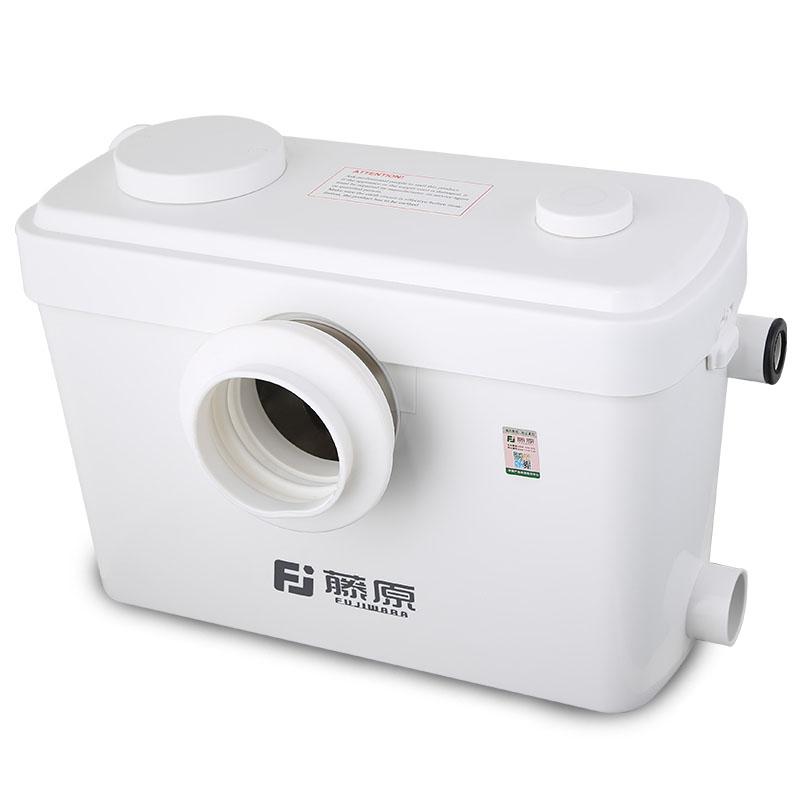 藤原提升泵 地下室厕所马桶全自动粉碎泵污水提升泵粪便泵排污泵