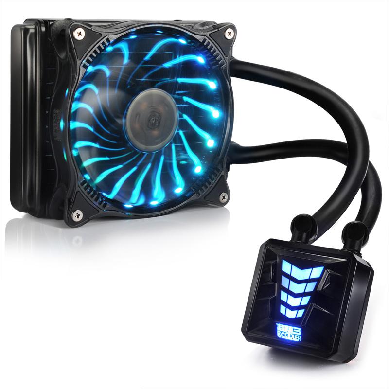 超频三cpu水冷散热器巨浪120-240台式电脑一体式水冷风扇套装