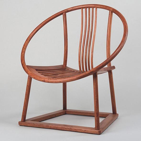 吉木原创新中式实木椅现代中式家具设计师椅围外卖设计装修图片