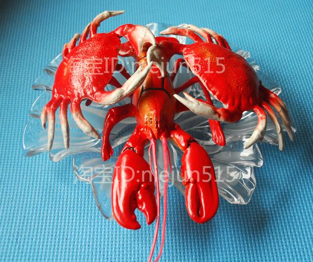 искусственные фрукты Simulation of crabs