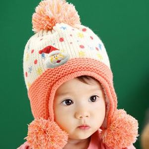 goulber/高路柏 Children head Hat Baby knitting hatРебенок шапку