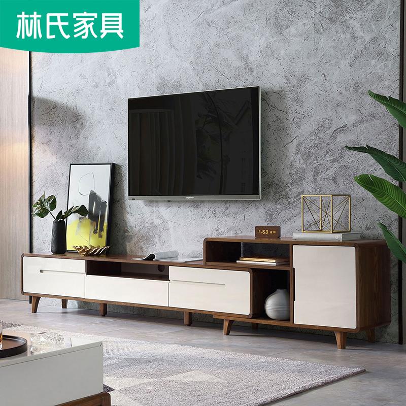 北欧简约小户型客厅电视柜茶几客厅组合套装影视柜地柜电视桌BA1M