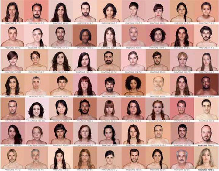 人类有几种肤色,疼爱造做粉底液的三秒