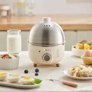 小熊蒸蛋器自动断电家用煮蛋器小型1人蒸鸡蛋器迷你蒸蛋煮蛋神器
