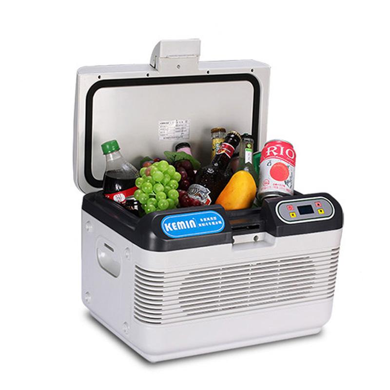 科敏12L双制冷车载冰箱冷暖器迷你小型学生用冷藏箱制冷车家两用