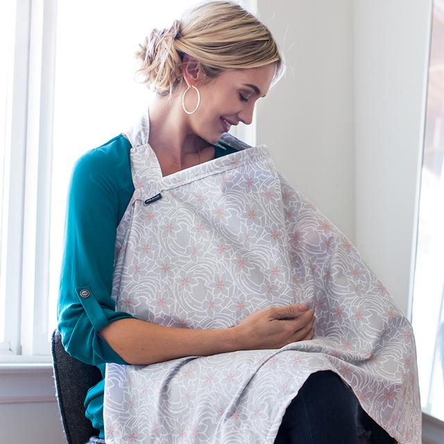 美国BebeauLait哺乳巾外出遮羞布喂奶衣遮挡巾衣防走光多功能盖秋