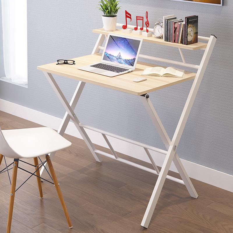2平米 免安装折叠桌简约家用儿童学习桌简易电脑桌办公桌子书桌写字台