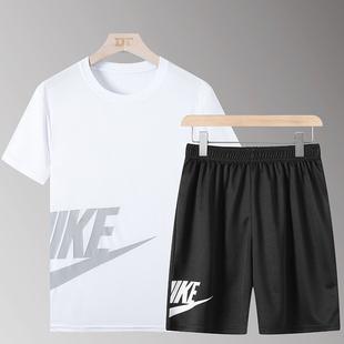 【NXL】新款运动套装男士潮牌两件套