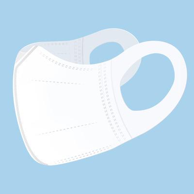 淘宝心选X Unifree一次性3D立体口罩3-8岁儿童9-16岁学生30片装