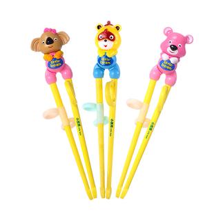 小豆苗 儿童筷子练习筷家用小孩学习勺子套装幼儿宝宝训练筷一段