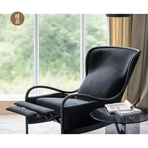 吱音相随沙发椅轻奢客厅卧室简约北欧现代休闲多功能单人布艺躺椅