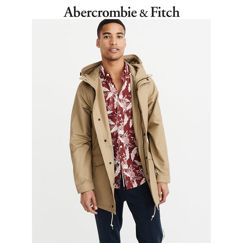 季末特惠Abercrombie&Fitch男装 轻便派克大衣 205920 AF