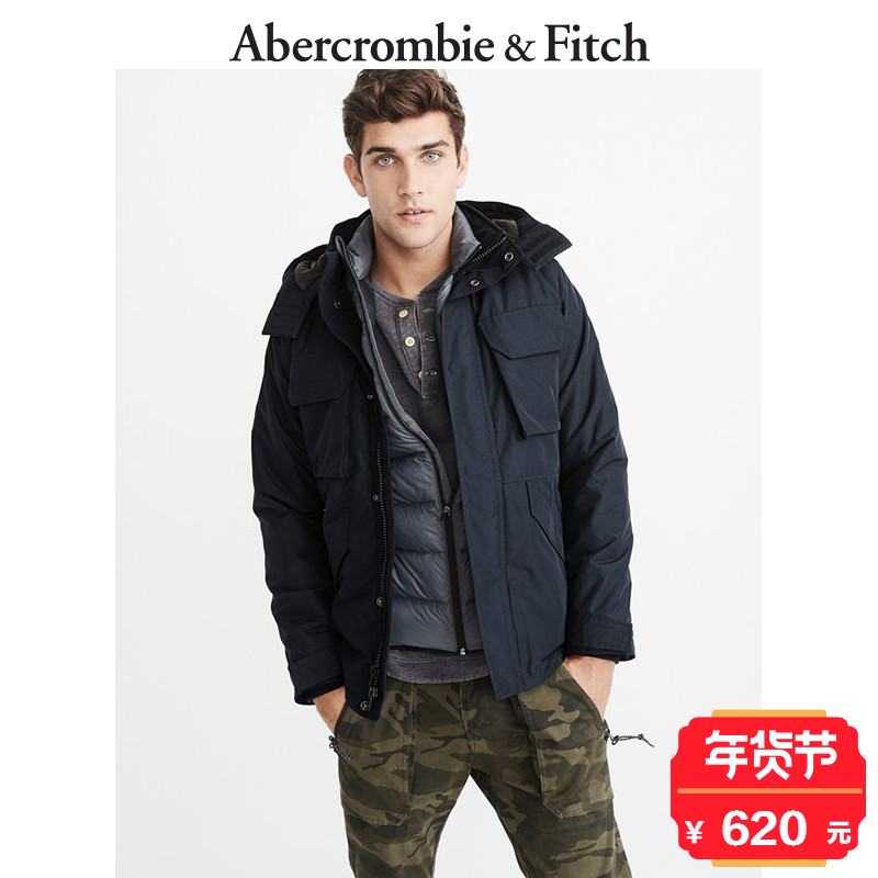 Winter Special Offer Abercrombie & Fitch men's middleweight functional jacket 175788 AF